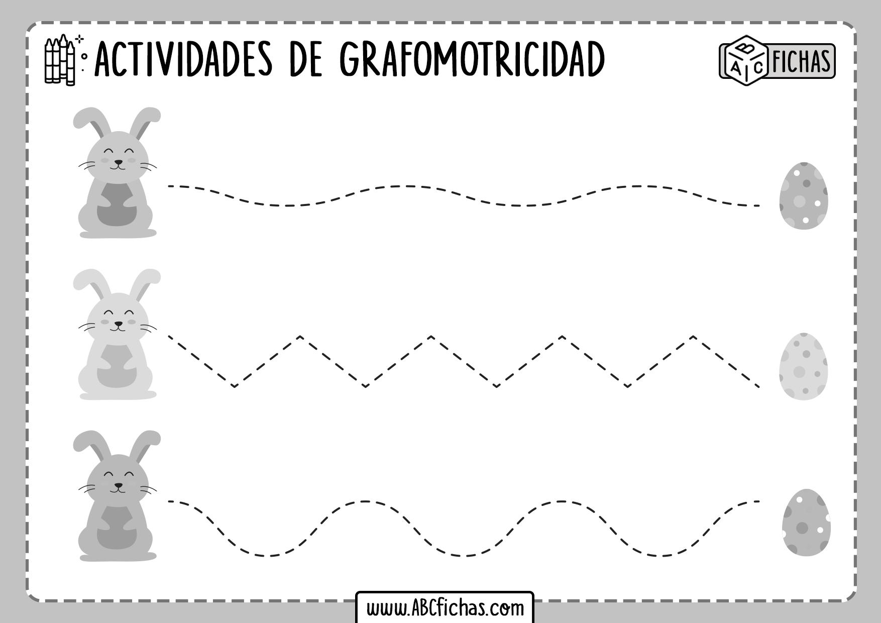Actividades de Grafomotricidad