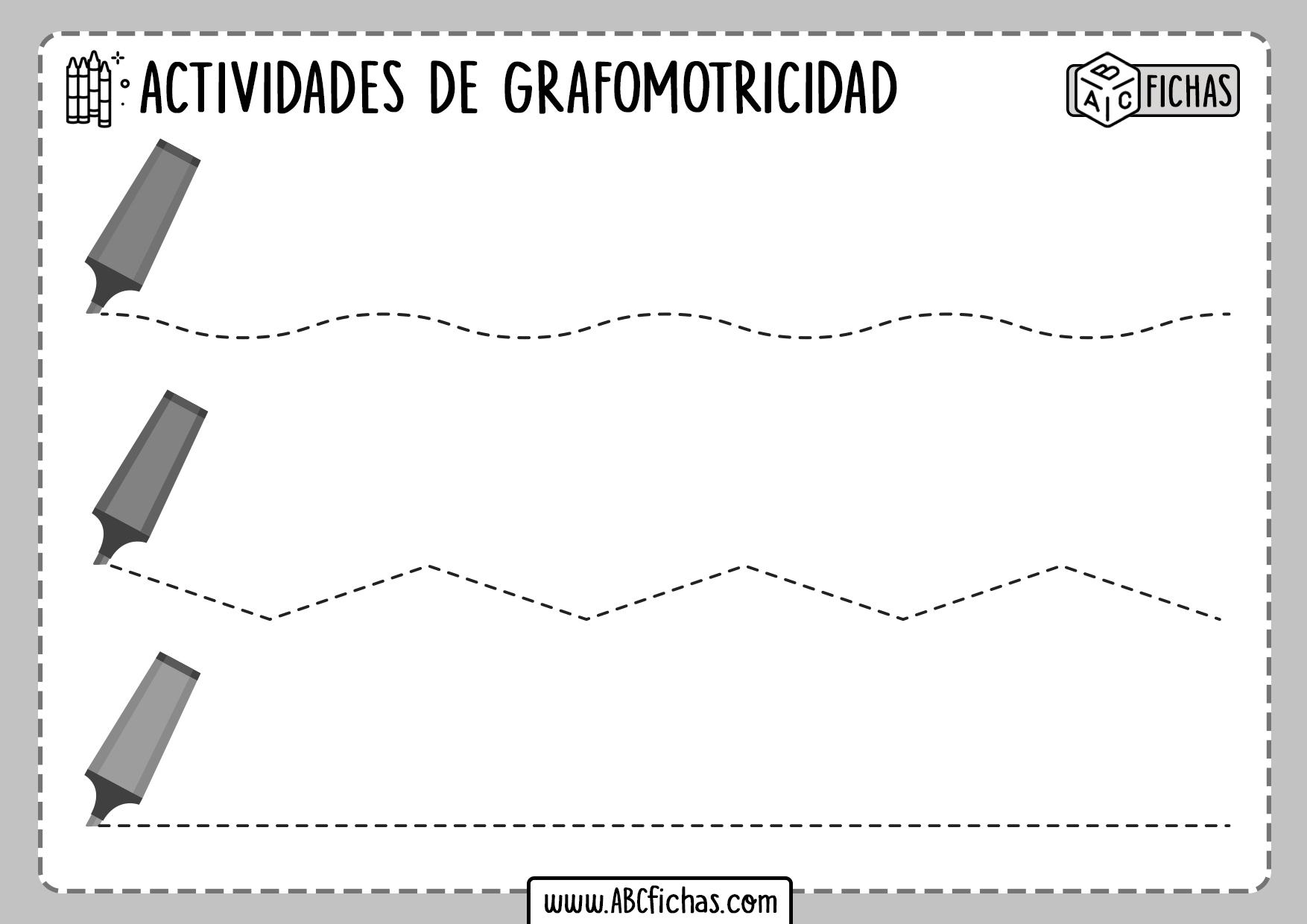 Ejercicios y Actividades de Grafomotricidad