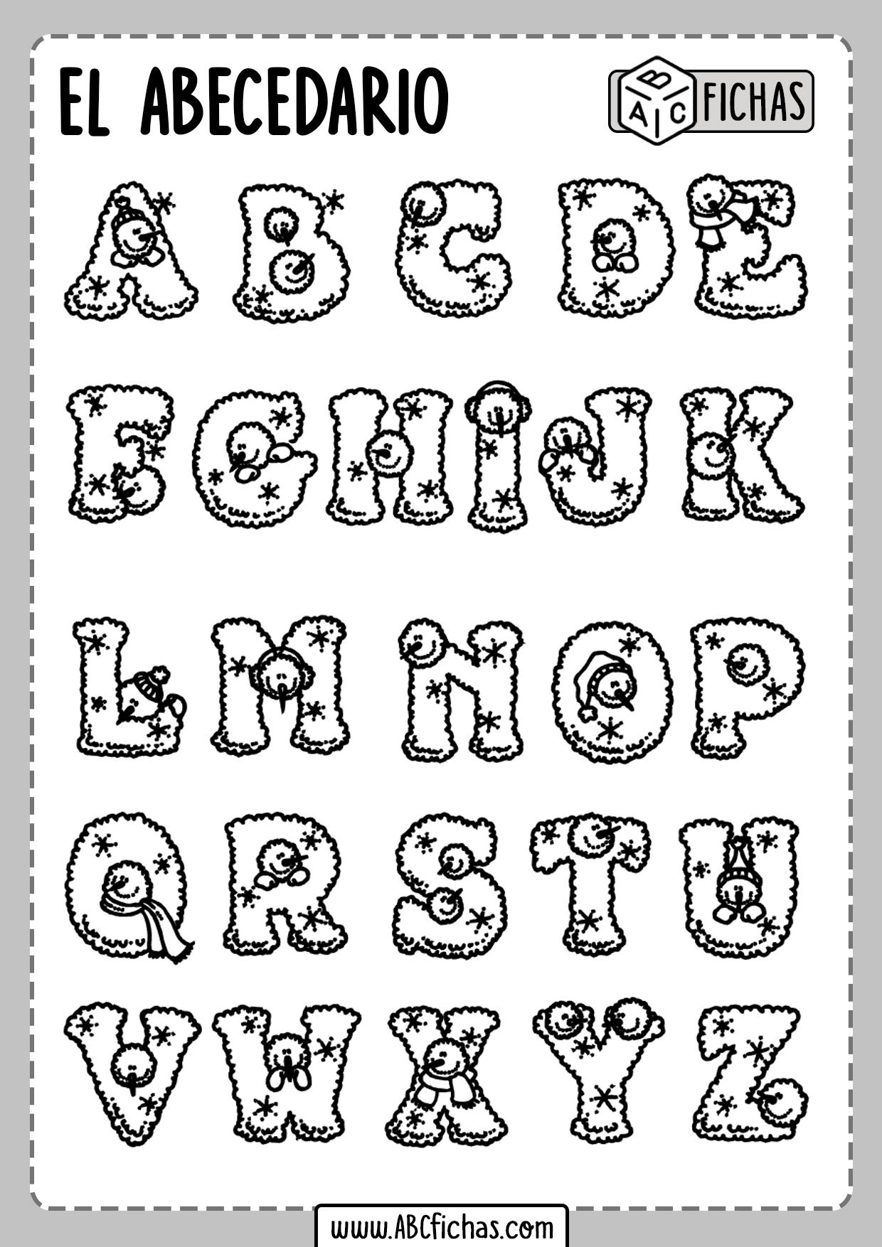Las Letras Abecedario