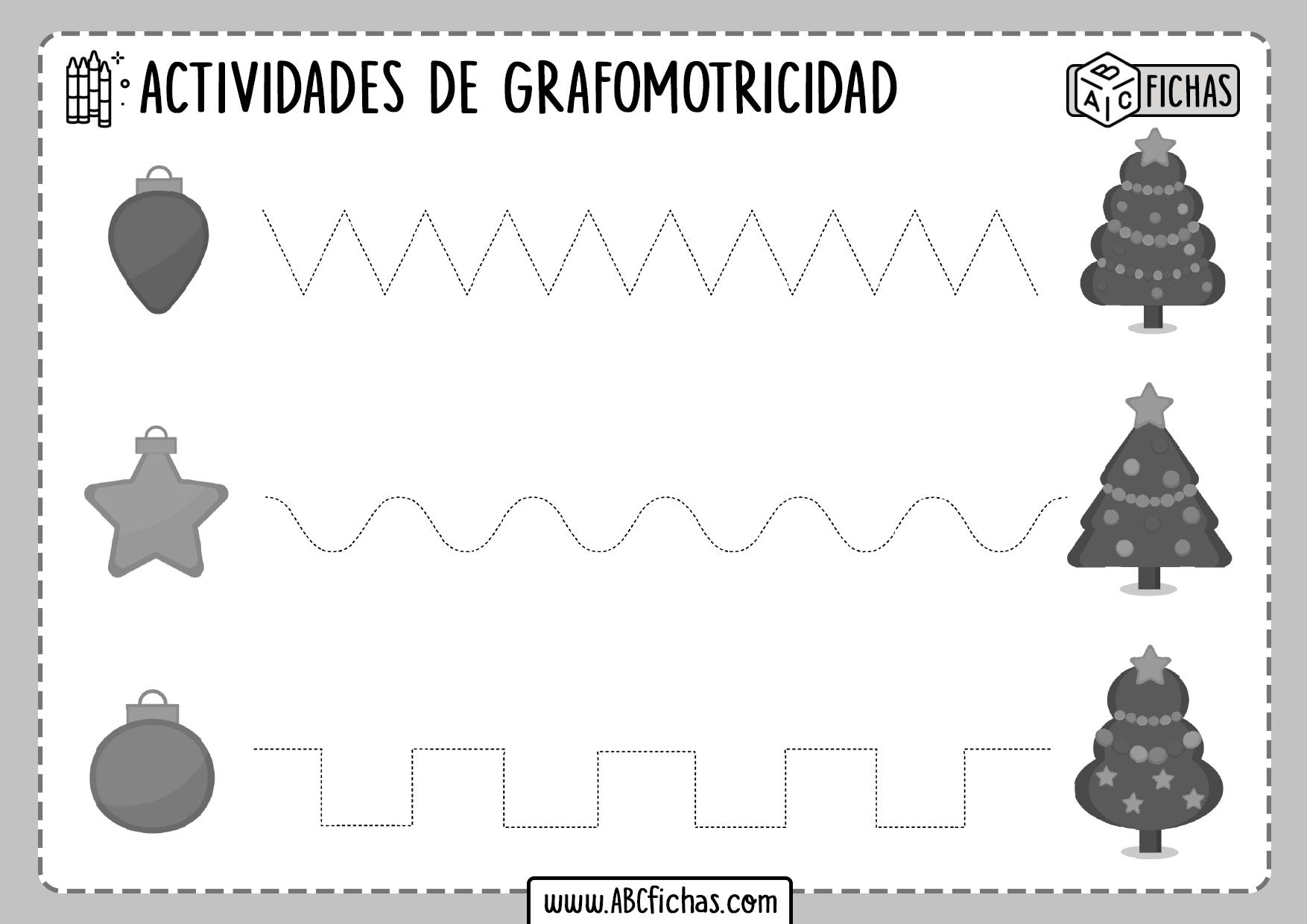 Trazar Lineas Grafomotricidad