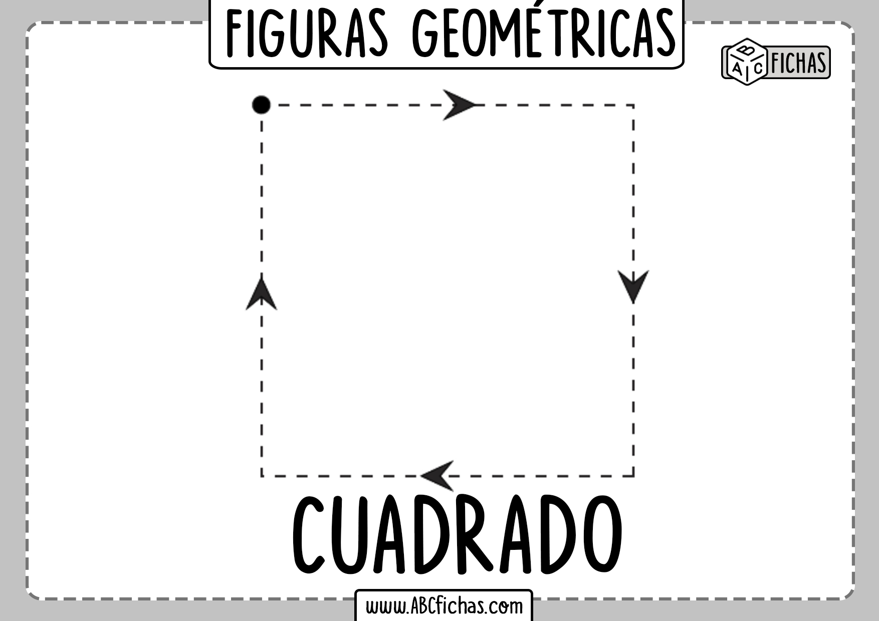 Aprender Figuras Geometricas Cuadrado