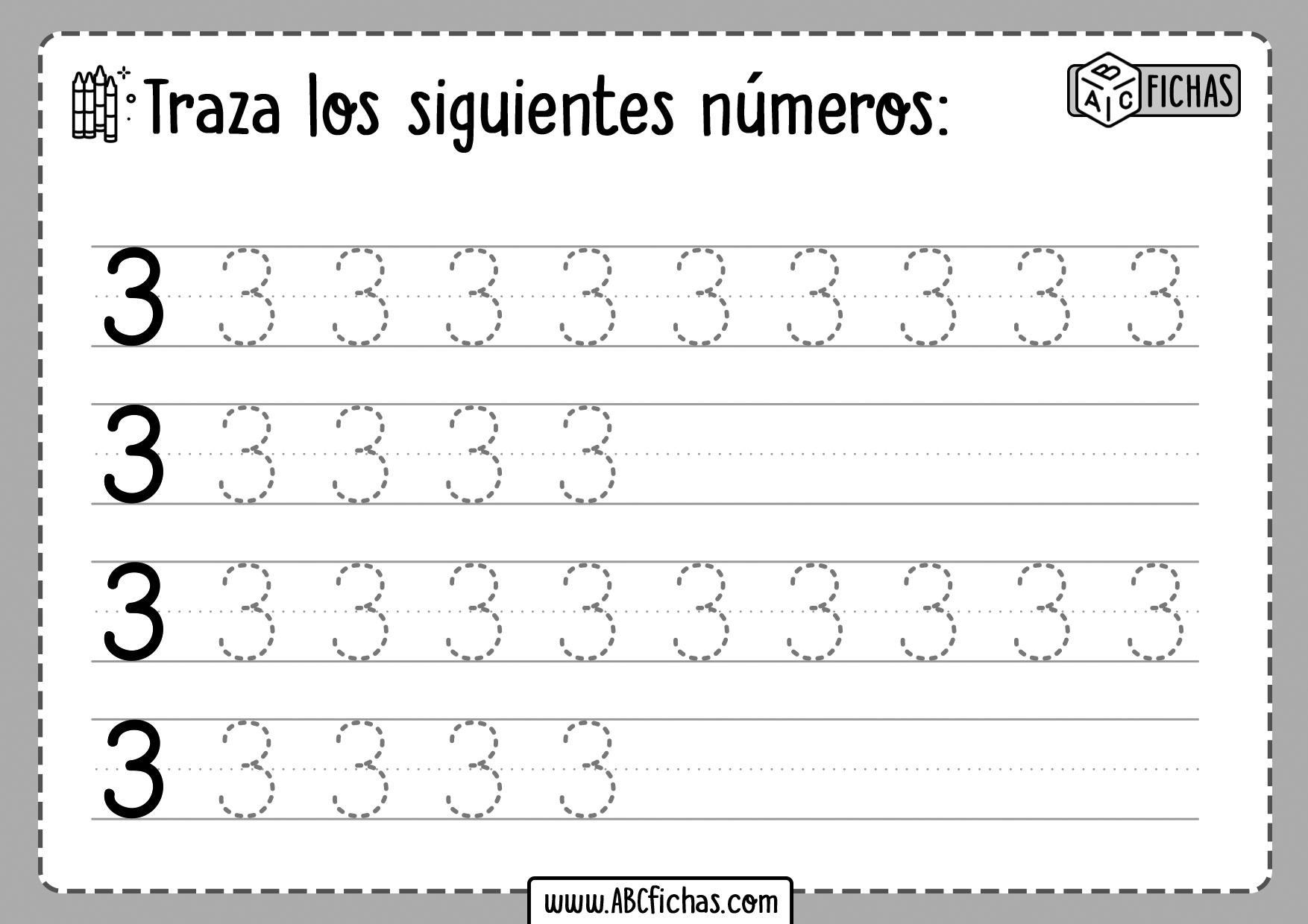 Aprender los Numeros del 1 al 10