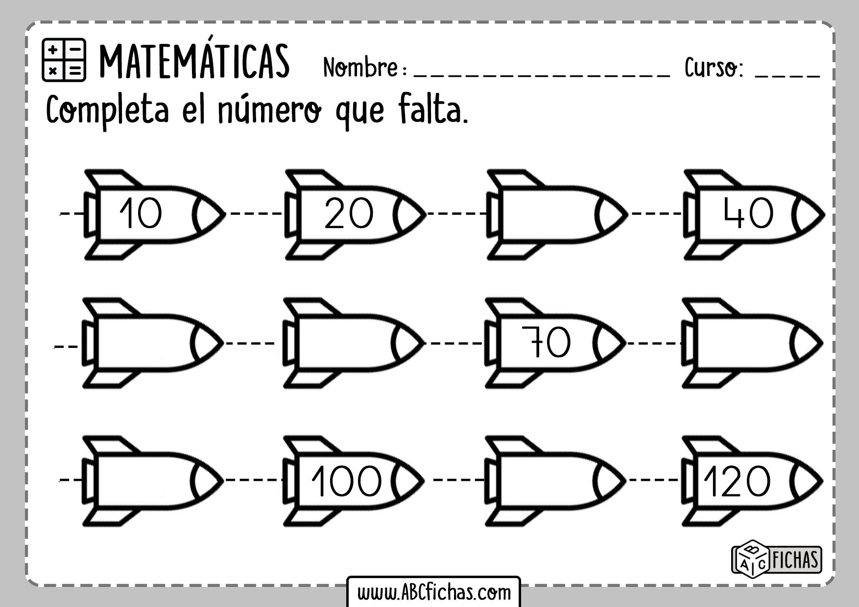 Series Numericas para aprender a contar