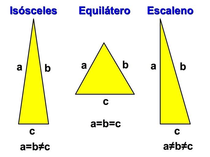 Triangulos para niños