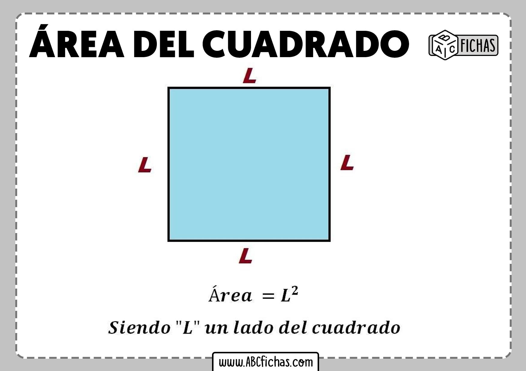 Area del cuadrado