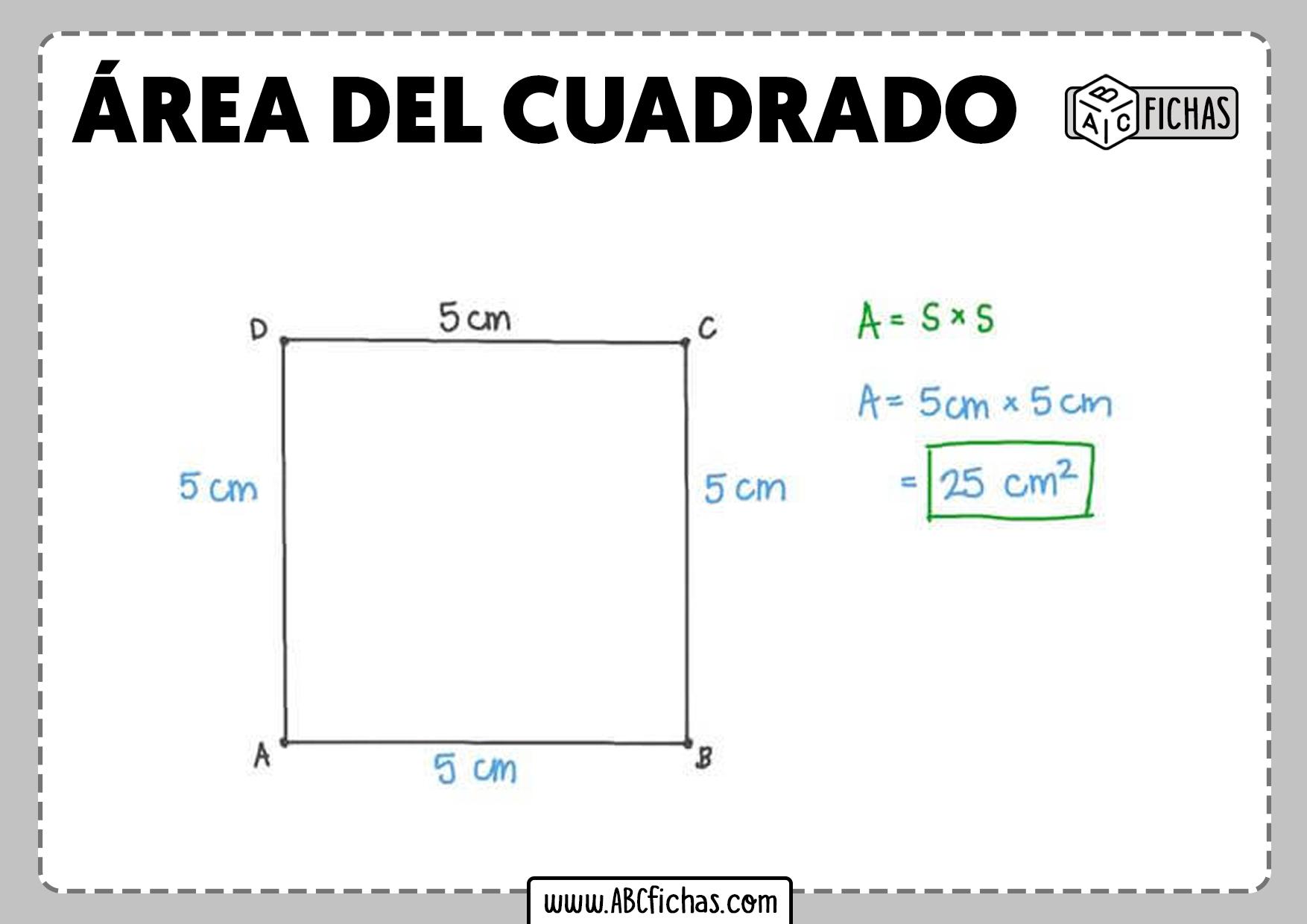 Calcular area del cuadrado