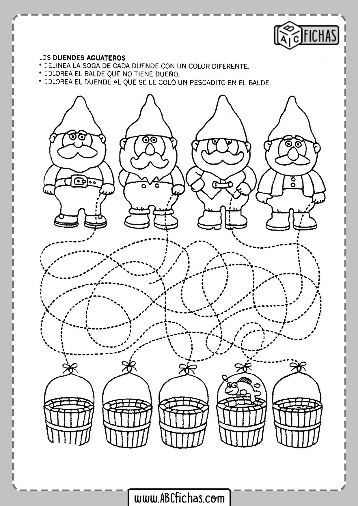 Actividades para niños pequeños para imprimir
