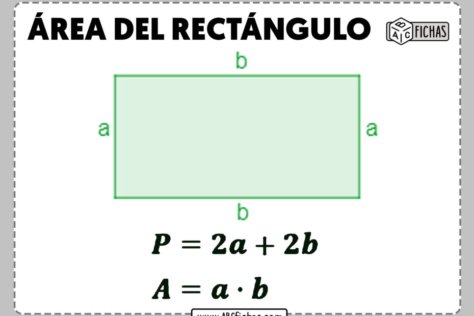 Area del rectangulo