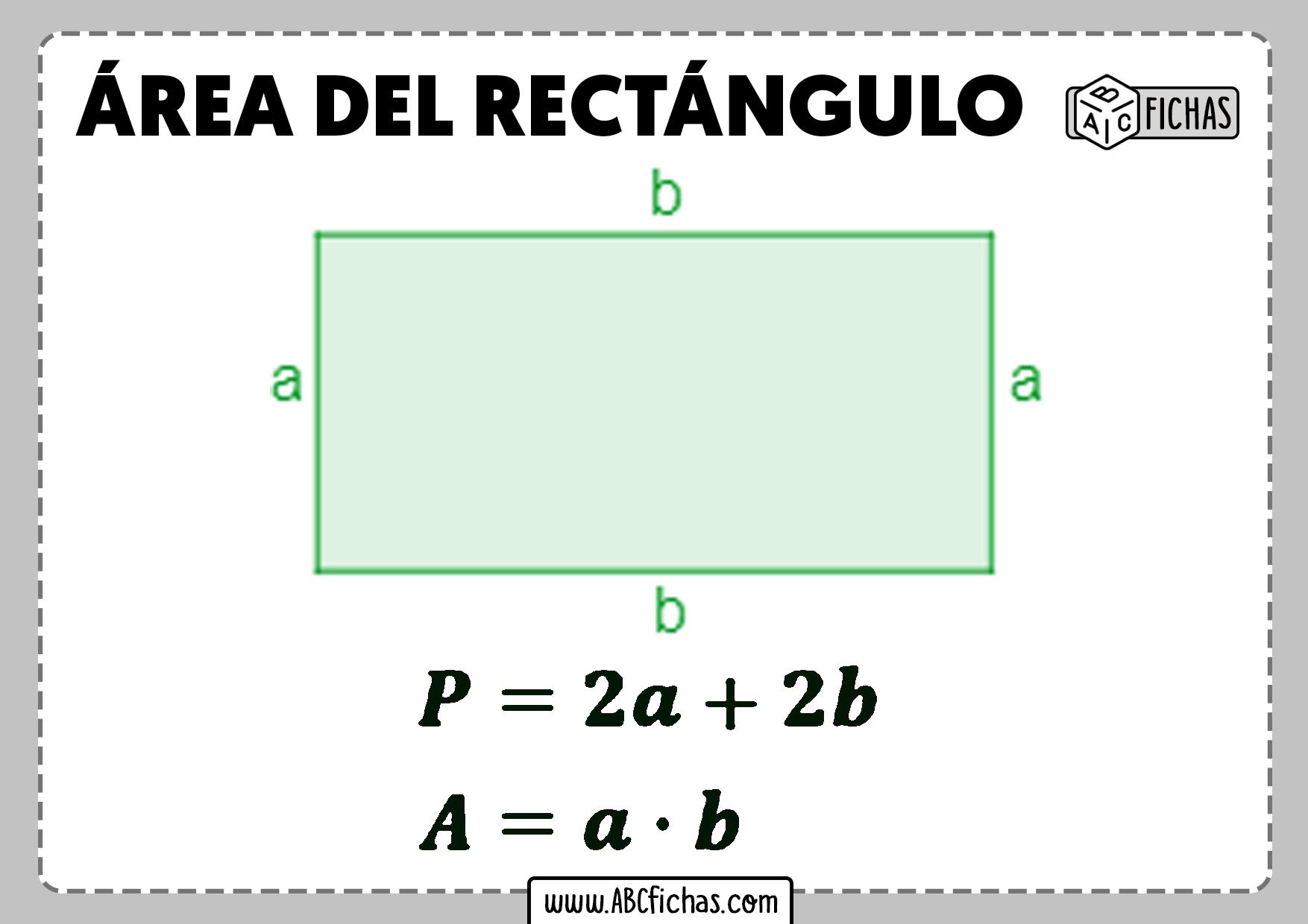 Area del rectangulo
