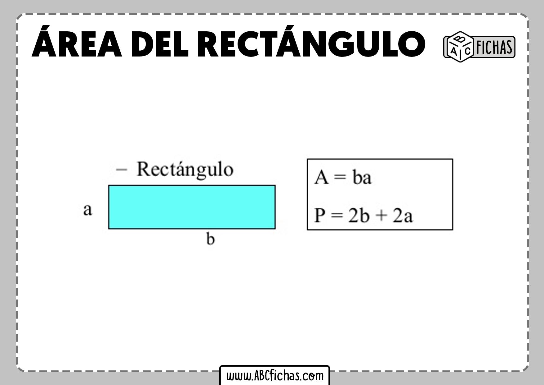 Calcular area del rectangulo