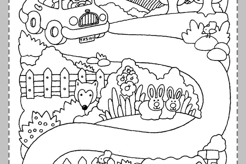 Fichas de actividades para niños de 3 años
