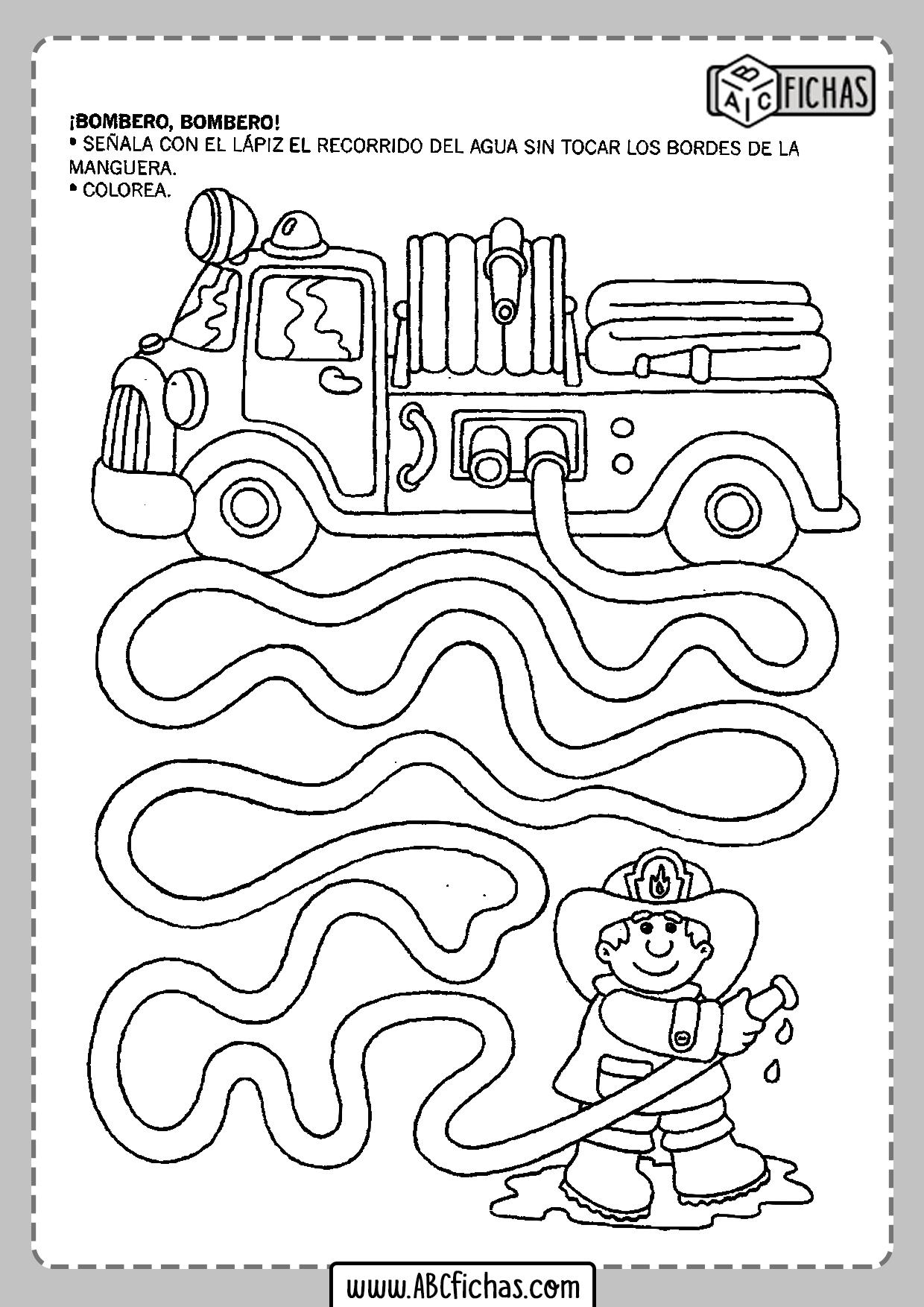 Fichas para imprimir para niños de 5 años