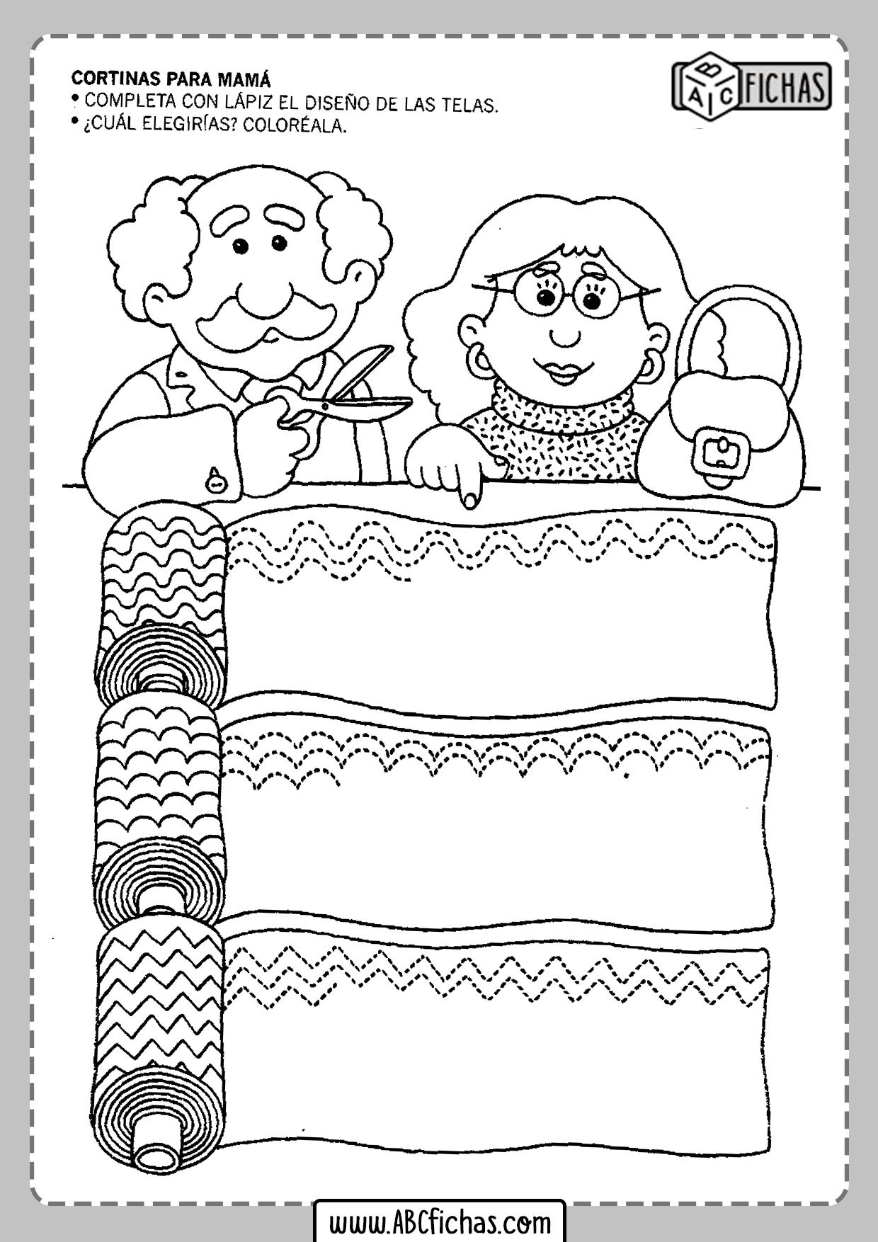 Fichas para niños de 3 4 y 5 años