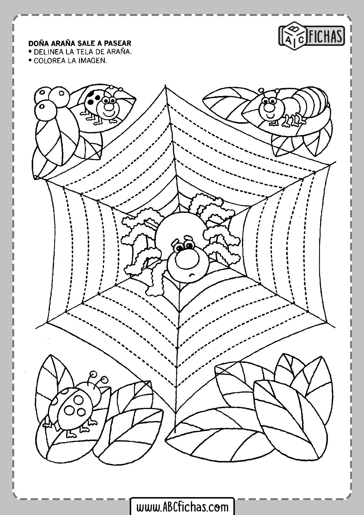 Fichas para niños de 5 años para imprimir