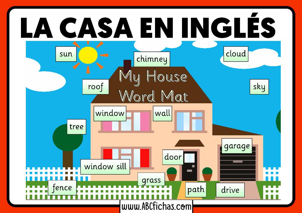 House parts vocabulary