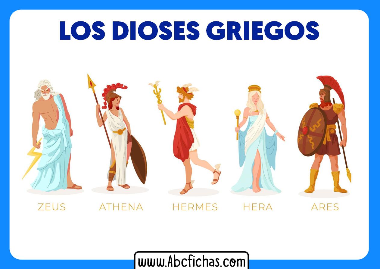 Dioses griegos de grecia